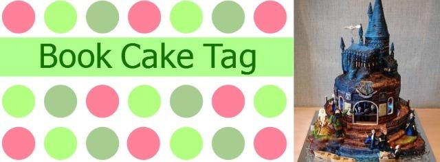 Book Cake Tag