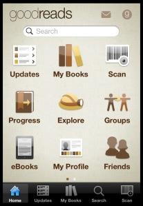 Goodreads app